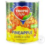 Ананас Tropic Life кусочками в сиропе 850мл
