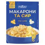 Макарони та сир Pripravka три сири 150г