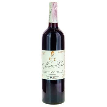 Madame Coco Rouge Moelleux red semi-sweet  wine  13% 0,75l - buy, prices for Furshet - image 1