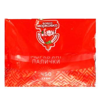 Carrot sticks Vovka Morkovka 450g - buy, prices for Auchan - image 5