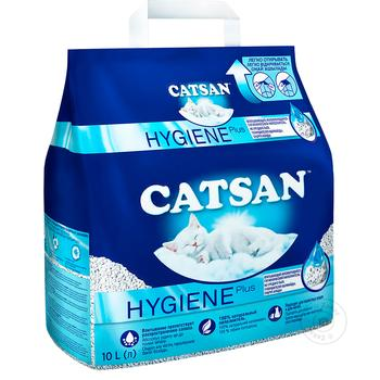 Catsan Toilet filler for cats 10l - buy, prices for Auchan - image 1