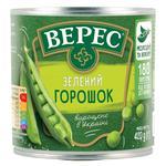 Горошек Верес зеленый с мозговых сортов 420г - купить, цены на Novus - фото 1