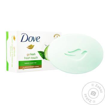 Крем-мило Dove Дотик свіжості 135г - купити, ціни на Novus - фото 1