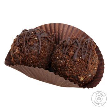 Тістечко Шоколадний трюфель 50г (вл.вироб.) - купить, цены на Восторг - фото 1