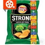 Lay's Strong potato chips with wasabi flavor 62g