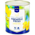 Merto Chef Pinepple Pieces 820g