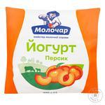 Йогурт Молочар персик 1% 400г