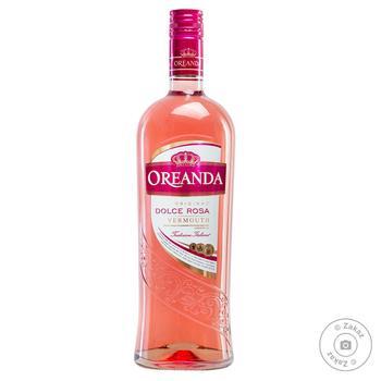 Вермут Oreanda Dolce Rosa рожевий солодкий 15% 1л - купити, ціни на Фуршет - фото 1