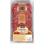 Ukrprompostach-95 Rymska Damp-Dried Cutted Sausage - buy, prices for Auchan - photo 2