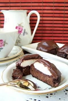 Шоколадне печиво з зефіром