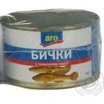 Бички Аро у томатному соусі 230г Україна