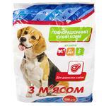 Корм Чиста ВигоДА! сухий для дорослих собак з м'ясом 500г