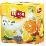 Чай чорний Lipton Citrus 20пак