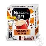 Напиток кофейный Nescafe 3в1 Карамельный крем растворимый в стиках 20*13г 260г
