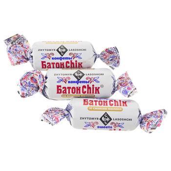 Zhytomyr Lasoshchi BatonChik with Milk Flavor Candies - buy, prices for Furshet - image 1
