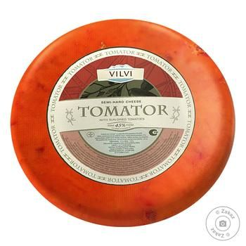 Vilvi Tomator Cheese With Tomato Weight 45%