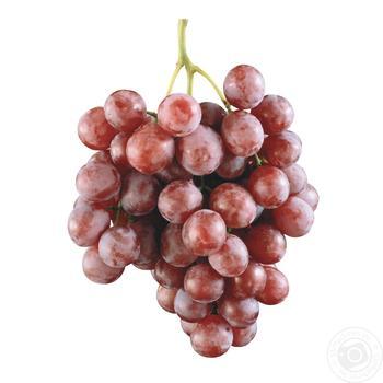 Виноград розовый - купить, цены на Фуршет - фото 1