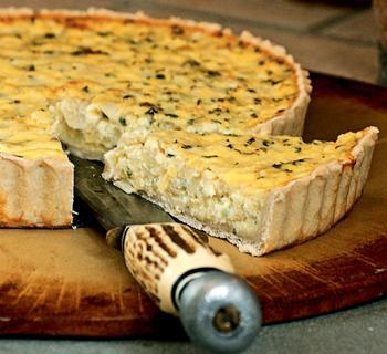 Полтавский луковый пирог