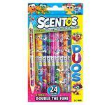 Scentos Double Fun Fragrant Pencils Set 12pcs