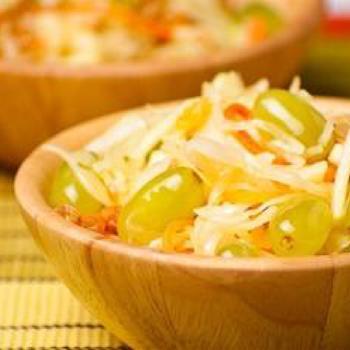 Фруктово-капустяний салат