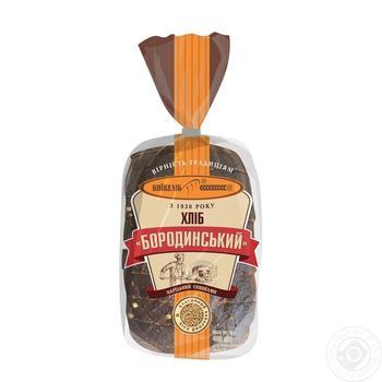 Хліб КиївХліб Бородинський нарізаний 400г - купити, ціни на Фуршет - фото 5