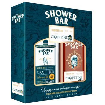 Liora Shower Bar Craft Gift Set Breeziness Body & Hair Shampoo 250ml + Vitality Body & Hair Shampoo 250ml