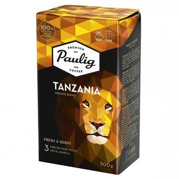 Кофе Paulig Tanzania натуральный жареный молотый 500г