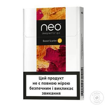 Стіки тютюнові GLO Neo Demi Brilliant Berry - купити, ціни на Novus - фото 1