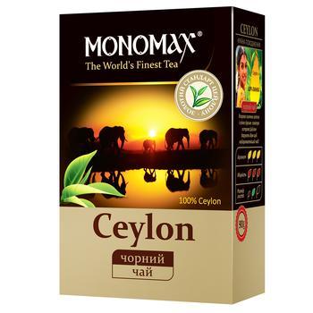 Чай черный Мономах Цейлон листовой цейлонский 90г