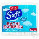 Ватні палички Varto Soft косметичні 100шт