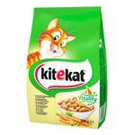 Корм Кіtekat для котів сухий курка з овочами 300г