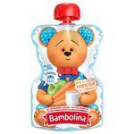 Пюре Bambolina Яблоко-морковь-сливки для детей от 6мес 90г