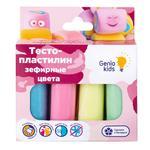 Тісто-пластилін Genio Kids Зефірні кольори 4шт