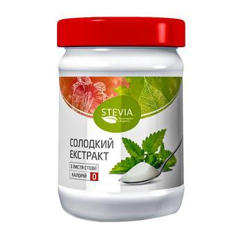 Солодкий екстракт Stevia з листя стевії 150г - купити, ціни на ЕКО Маркет - фото 1