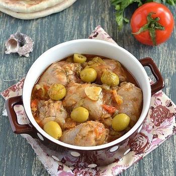Mediterranean-style chicken