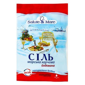 Salute di mare iodized sea salt 600g - buy, prices for Metro - image 1