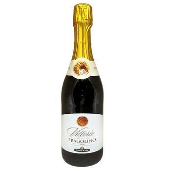 Напиток винный Vittorio Fragolino красный 7% 0,75