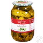 Ukrainska Zirka Canned Cucumbers 1kg