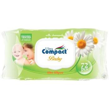 Ultra Compact Baby Chamomile Wet Napkins 72pcs