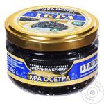 Ікра чорна альгінова Перлина Криму 120г