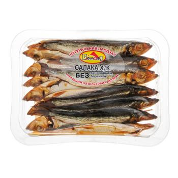 Салака Вомонд холодного копчения 250г - купить, цены на Ашан - фото 1