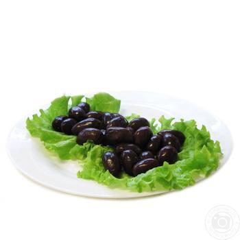 Amalihia Black Mammoth olives weigh - buy, prices for Furshet - image 1