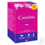 Прокладки щоден. Carefree 36 шт. plus Large new