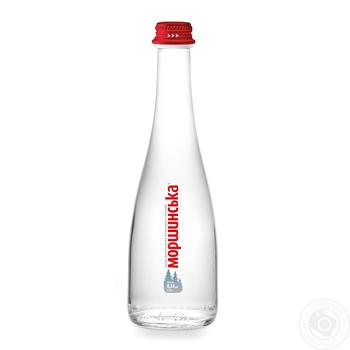 Still natural mineral water Morshynska 330ml