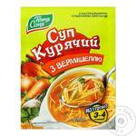 Суп Тётя Соня куриный с вермишелью 60г