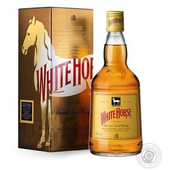 White Horse Fine Old Whisky 40% 1l - buy, prices for Novus - image 1