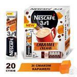Напій кавовий NESCAFÉ® 3-в-1 Caramel зі смаком карамелі розчинний стік 13г - купити, ціни на Novus - фото 2