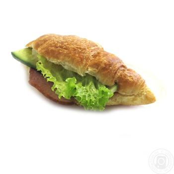 Croissant with ham - buy, prices for Auchan - photo 1