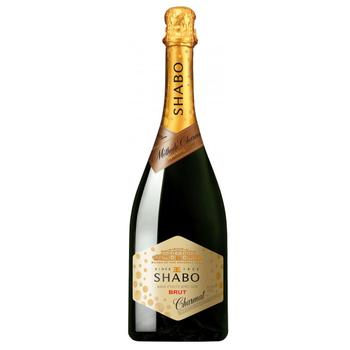 Shabo Charmat Brut white dry wine 10.5-13.5% 0.75l - buy, prices for EKO Market - photo 1