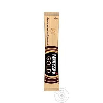 Кофе Nescafe Gold растворимый в стиках 1.8г